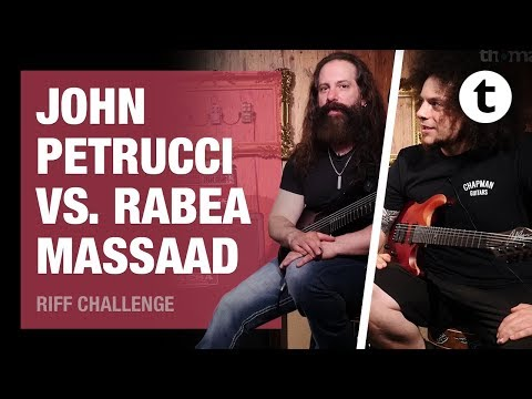 Thomann Challenges | Episode 2: John Petrucci to Rabea Massaad