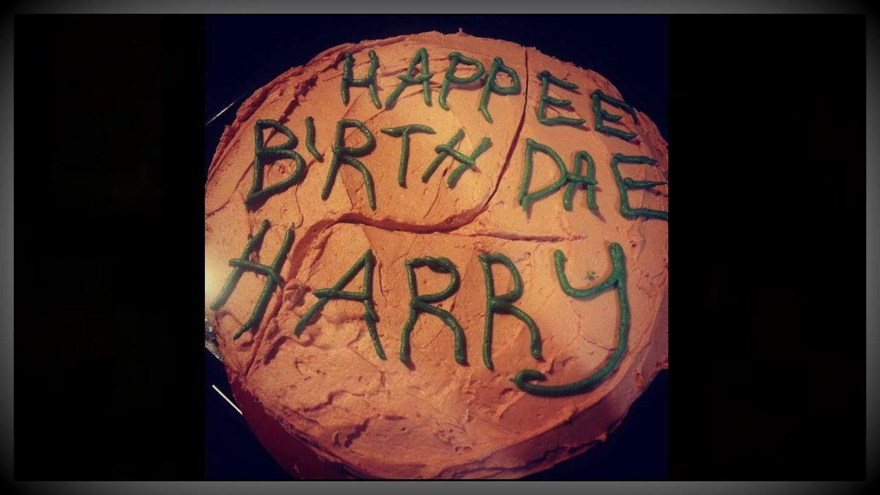 Gluten Free Harry Potter Birthday Cake Happy 37th Birthday Harry