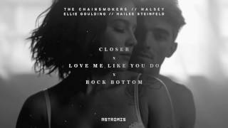 The Chainsmokers, Halsey, Ellie Goulding - Closer x Love Me Like You Do x Rock Bottom