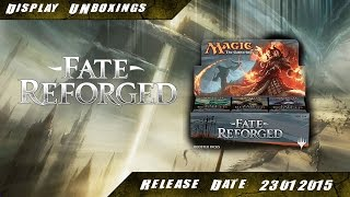 Mtg - Fate Reforged 6x6 Booster Unboxing - Display Part 1 [FRF][Deutsch]