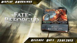Mtg - Fate Reforged 6x6 Booster Unboxing - Display Part 1 [FRF][Deutsch]