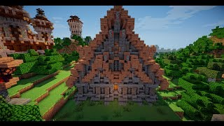 minecraft medieval building
