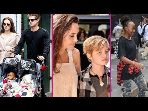 Angelina Jolie And Brad Pitt Daughters 2017