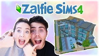 Moving Into Our Dream House | Zalfie Sims Edition [21]