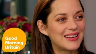 Marion Cotillard Reveals She Had to Teach Brad Pitt French! | Good Morning Britain