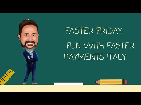Faster Payment Flags Italy