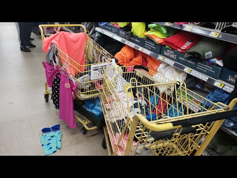 PENNY SHOPPING! CLOTHES FOR .01 SECRET HIDDEN CLEARANCE AT DOLLAR GENERAL