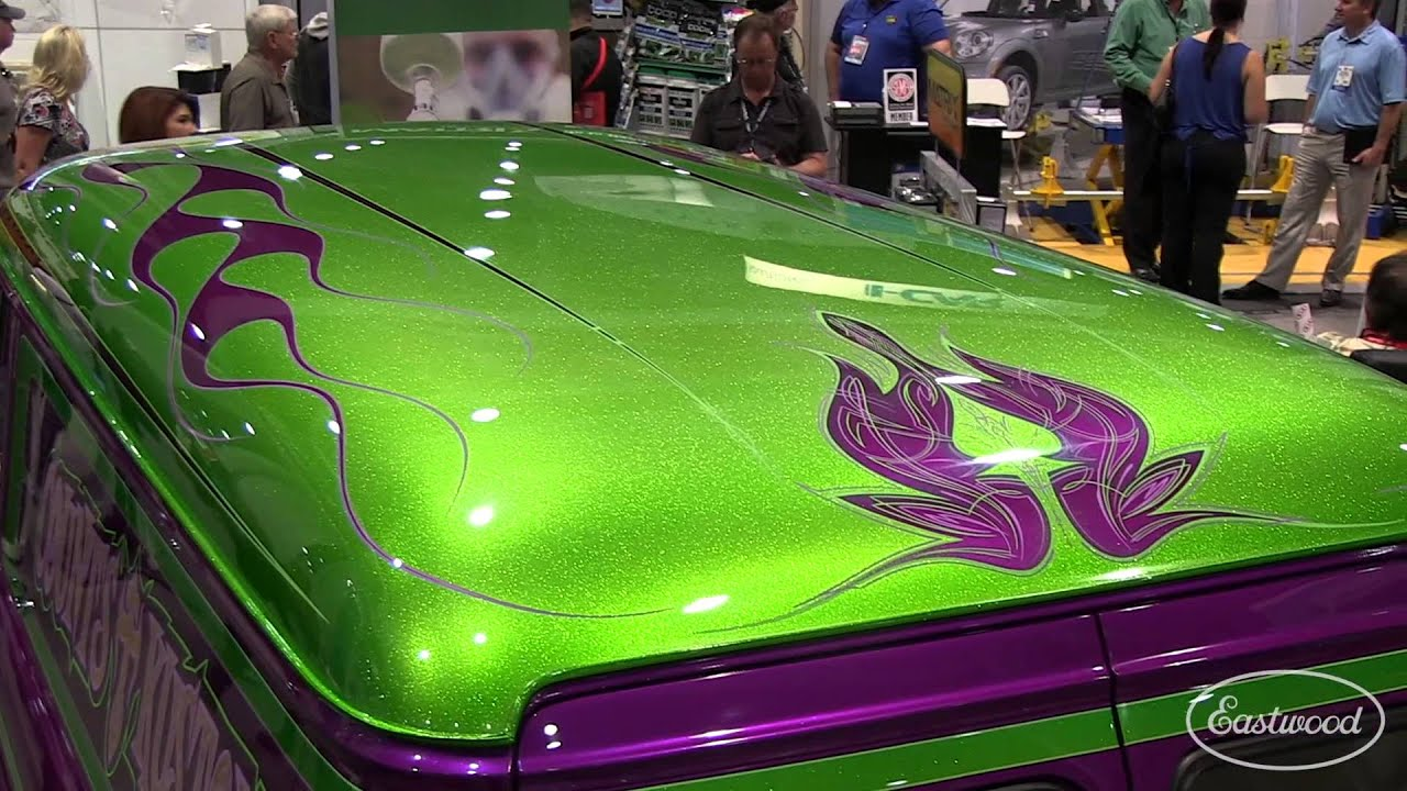 Danny The Count Koker - Count\'s Kustoms Chevy Panel Truck at SEMA ...