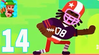 Video Bowmasters - MIKE!!! (iOS /Android) Gameplay Walkthrough - Part 14 download MP3, 3GP, MP4, WEBM, AVI, FLV Maret 2018