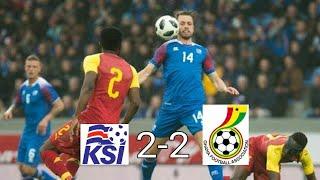 Islanda - Ghana 2-2 - All Goals & Highlights HD