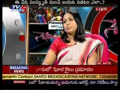 Snehitha - Debate on Rave parties (TV5)