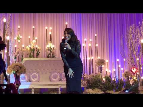 Dayang Nurfaizah Perform At Wedding In Bintulu