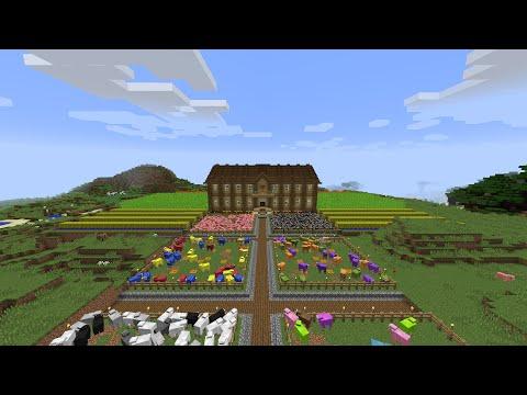 "Minecraft - Progress report on ""Nirvana"" ep. 1 - The base"