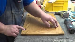 Building Custom Oak Cabinets Episode 13-Installing The Door Hinges