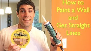 How to Paint a Wall and Get Straight Lines