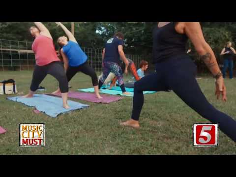 Music City Must - Goat Yoga