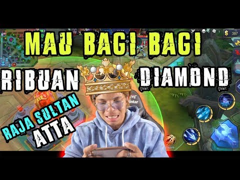 download ATTA ML! Jadi Sultan Raja! Bagi Bagi Ribuan Diamond! siap siap