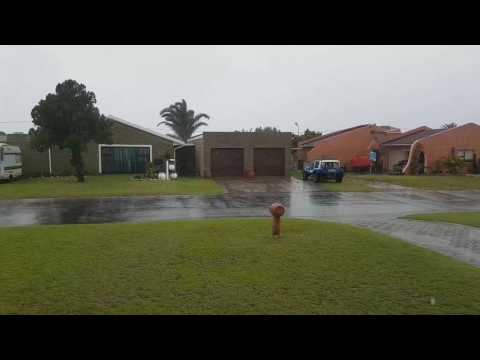 Rain in Port Elizabeth