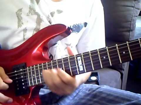 Guitar Metal Riffs and Solos Part 1