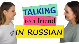 Everyday dialogues in Russian