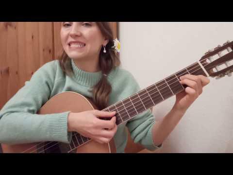 Зорька алая Am/ Как играть на гитаре / Разбор на гитаре