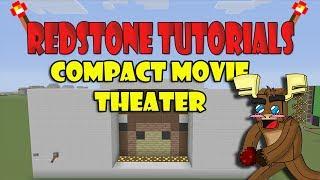 "Compact Movie Theater ""Tutorial"" (Minecraft Xbox)"