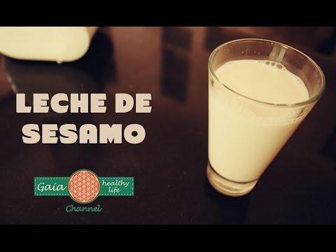 Leches Vegetales: Leche de Sésamo (Ajonjolí)