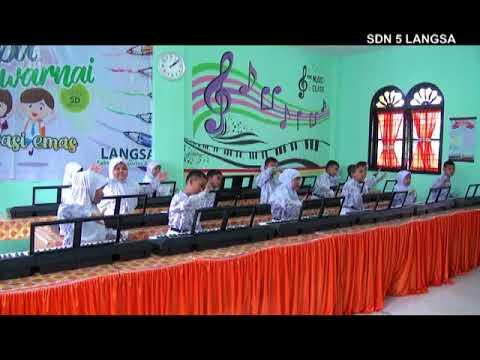 Lomba video Musik Ansambel Sekolah Dasar 2017/2018 - Keyboard  - SDN 5 Langsa - Indonesia Pusaka