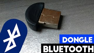 Adaptador BLUETOOTH USB | DONGLE PARA PC E NOTEBOOK