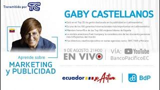 Congreso Ecuador se activa - Aprende sobre marketing y publicidad con Gaby Castellanos