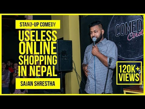 Online Shopping | ft. Sajan Shrestha | Stand Up Comedy