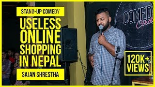 Online Shopping | ft. Sajan Shrestha | Stand Up Comedy