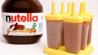 Nutella Popsicle Recipe - Laura Vitale - Laura in the Kitchen Episode 769
