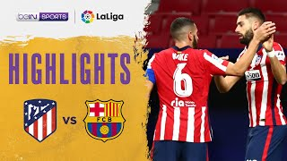 Atletico Madrid 1-0 Barcelona | LaLiga 20/21 Match Highlights