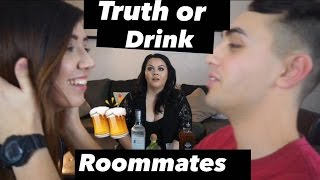 Truth or Drink Challenge |Orgasams & Cheating| Roommates Edition