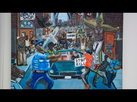 Congressional Black Caucus to re-hang controversial painting