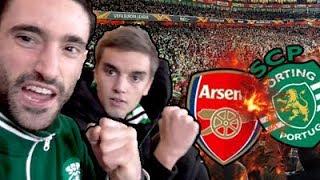 INVASÃO A LONDRES!!! // GoT #05 Arsenal x Sporting CP