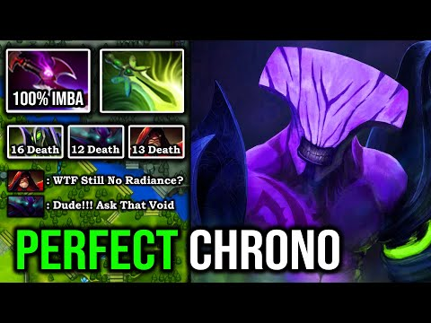 INVISIBLE GANKER!!! Perfect Chrono Set Up With Brutal Bash Lord 100% Counter Spectre 8K Void DotA 2