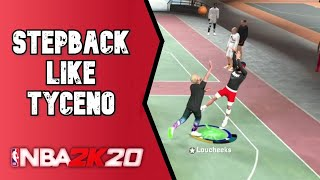 HOW To Play Like TYCENO! Become A Better Shot Creator NBA 2K20 Tutorial!