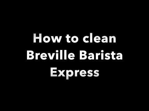 Clean Breville Barista Express