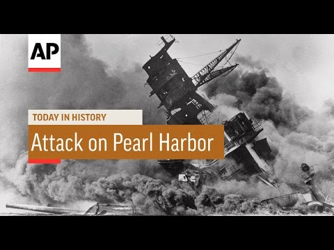 Pearl Harbor Attack - 1941 | Today in History | 7 Dec 16