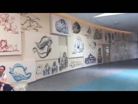 Tour Art of Animation Resort and watch what happens at the end!