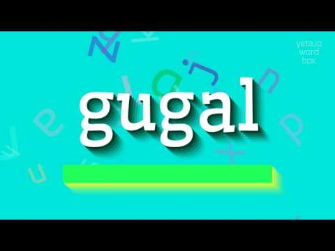 "How to say ""gugal""! (High Quality Voices) thumbnail"