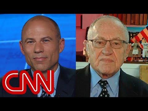 Michael Avenatti, Alan Dershowitz debate gets personal