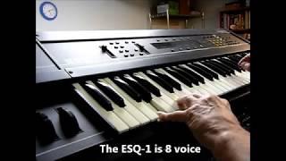 ESQ-1, ESQ-M & SQ-80 *NEW* RAM cartridge demo