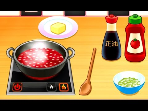 Kids Learn Kitchen Tools and Play Fun Cooking Games for Children