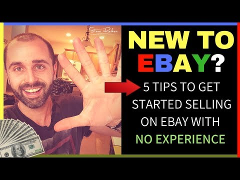 5 Tips to Selling on eBay with NO Experience!