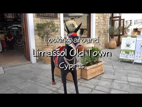 Looking Around Limassol Old Town, Cyprus