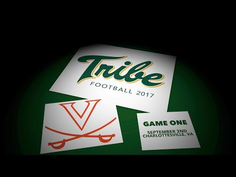 2017 Tribe Football - Game Recap vs. Virginia