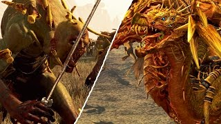 MONSTER OF WARHAMMER VS DRAGON OF WARHAMMER - MASSIVE BATTLE TOTAL WAR WARHAMMER